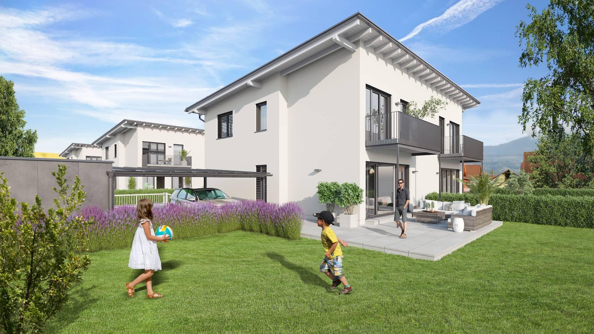 AIS Wohnprojekt Wolfsberg Außenansicht