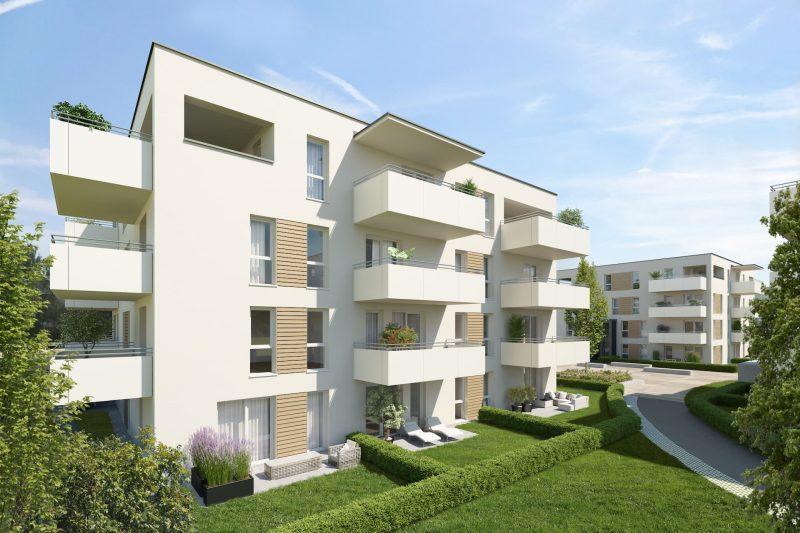 Bild: Aussenansicht Bauherrenprojekt Gradnerstrasse IFA AG