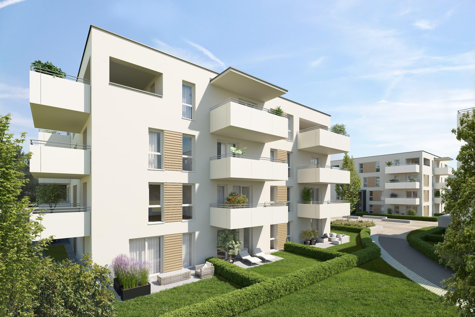 Aussenansicht Bauherrenprojekt Gradnerstrasse IFA AG