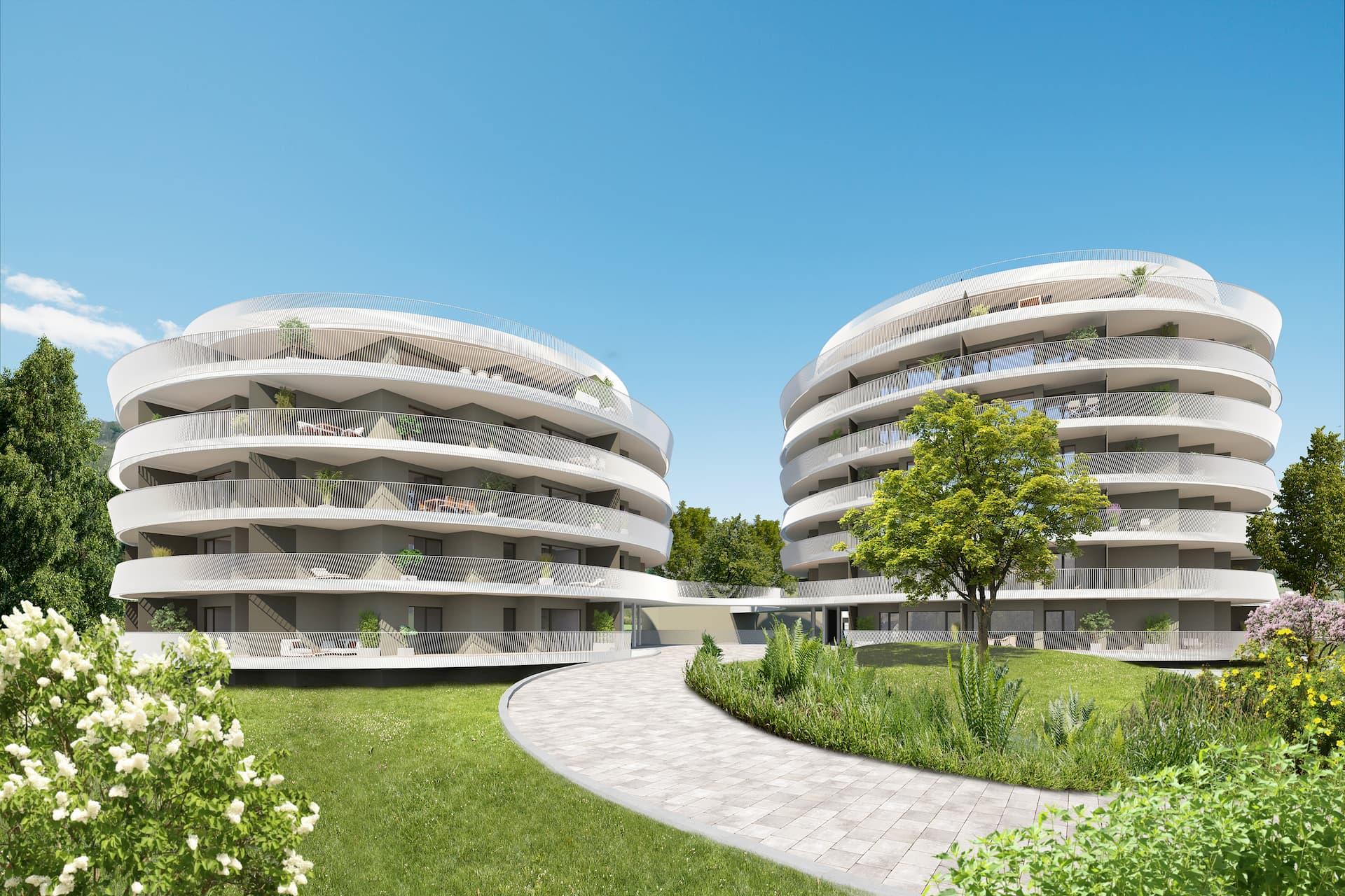 Aussenansicht Bauherrenmodell Green Paradise IFA