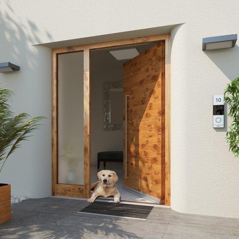 Bild: barrierefreie Haustüre der Firma Gabana