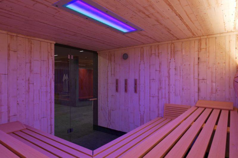 Bild: Ansicht Sauna Spa-Hotel