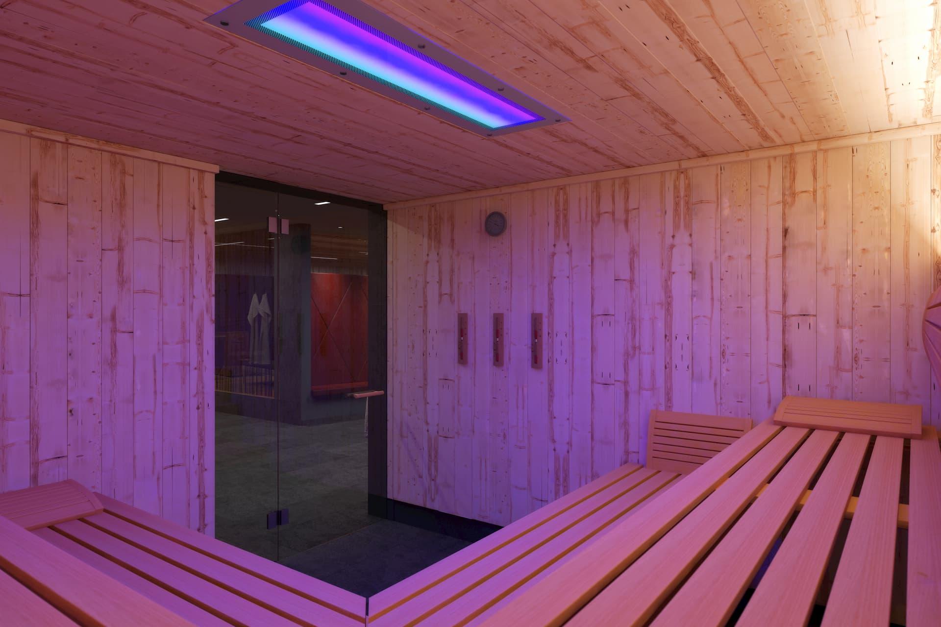 Ansicht Sauna Spa-Hotel