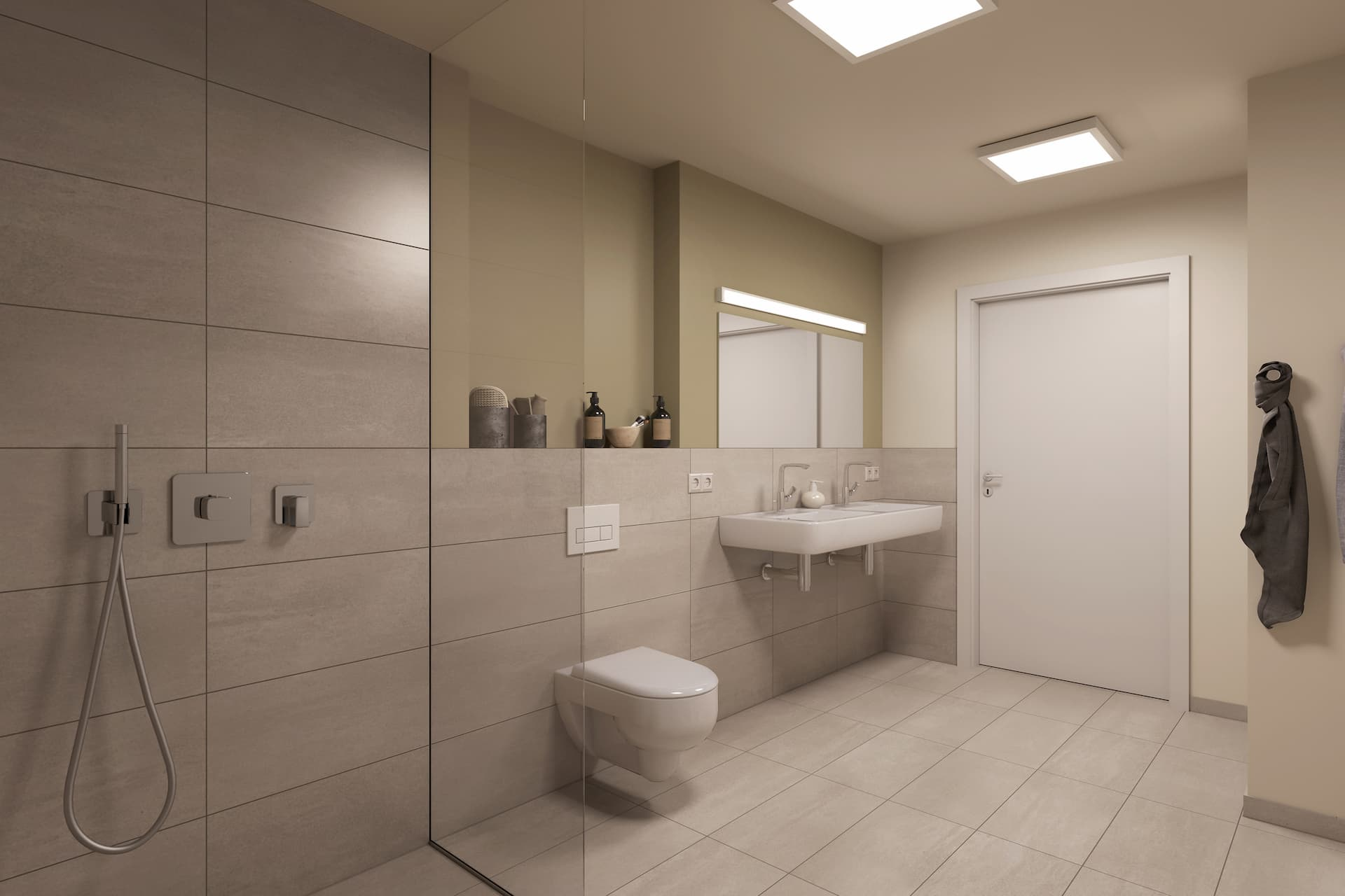 Badezimmer in einem LIHA Haus