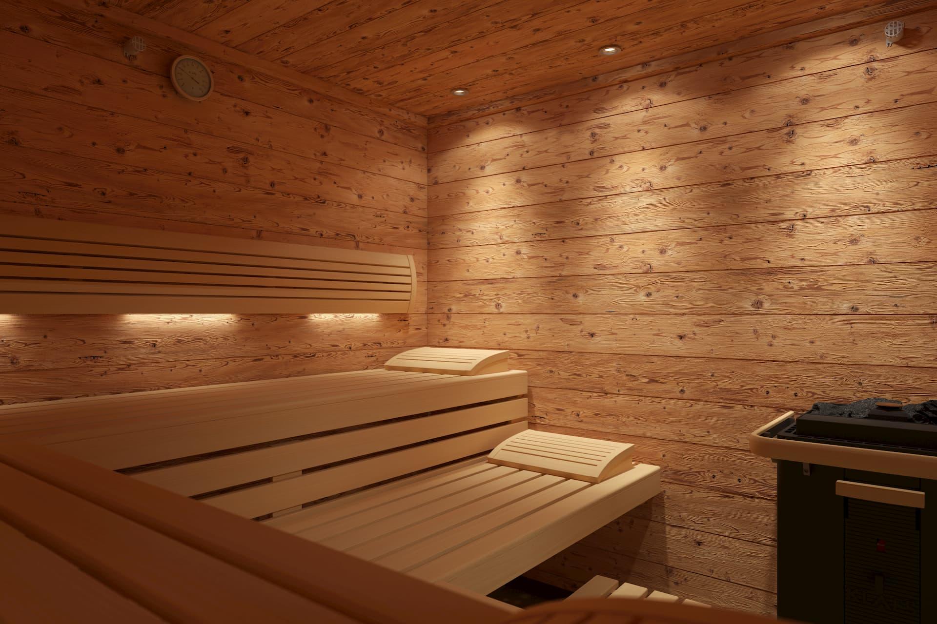 Klafs Sauna Mont Blanc