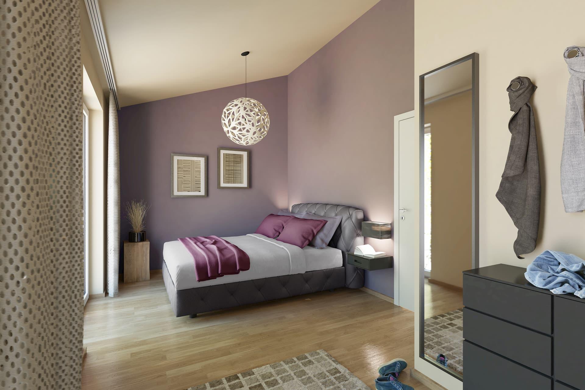 Schlafzimmer Wohnanlage GLS Wagna