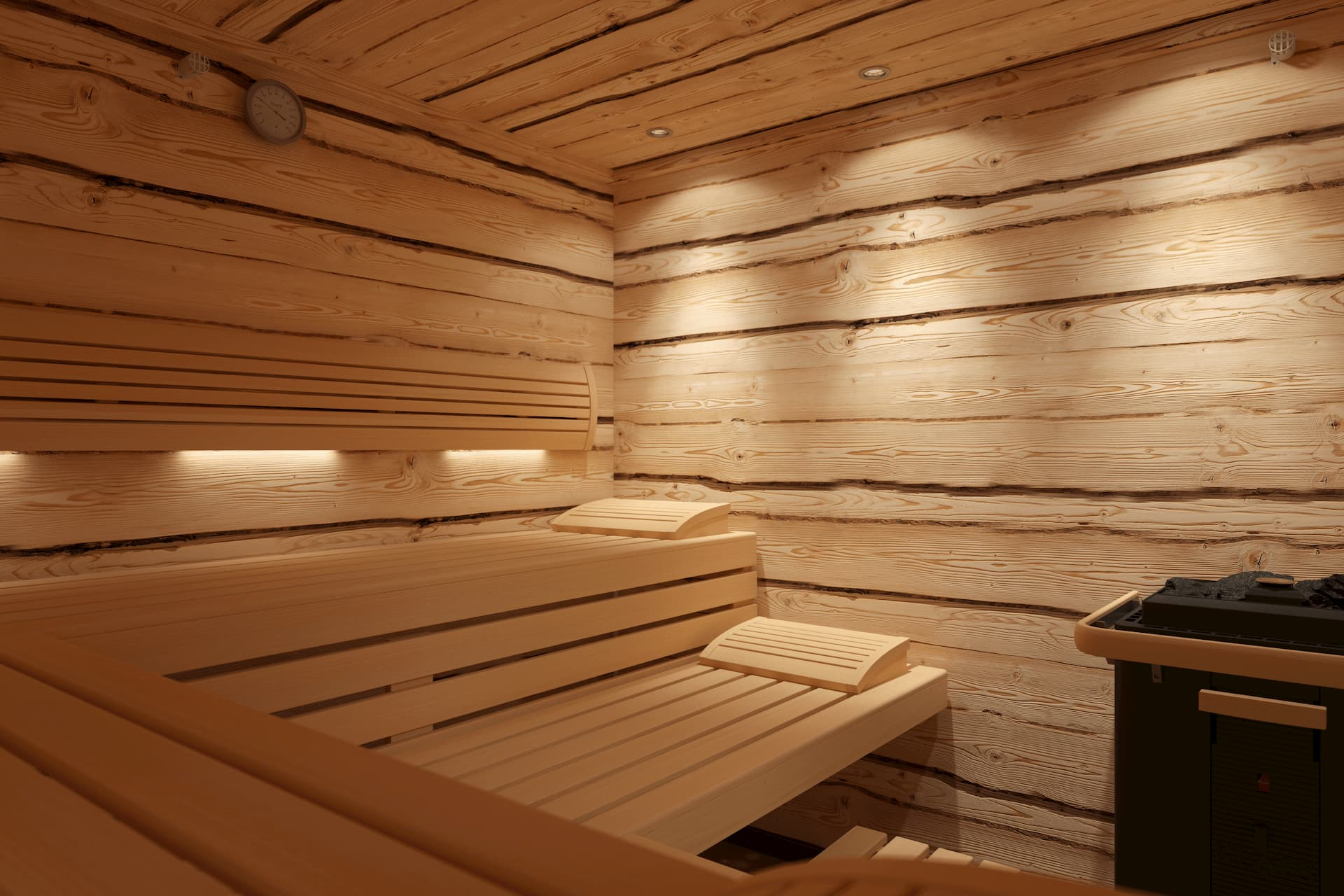 Klafs Sauna Wildspitze