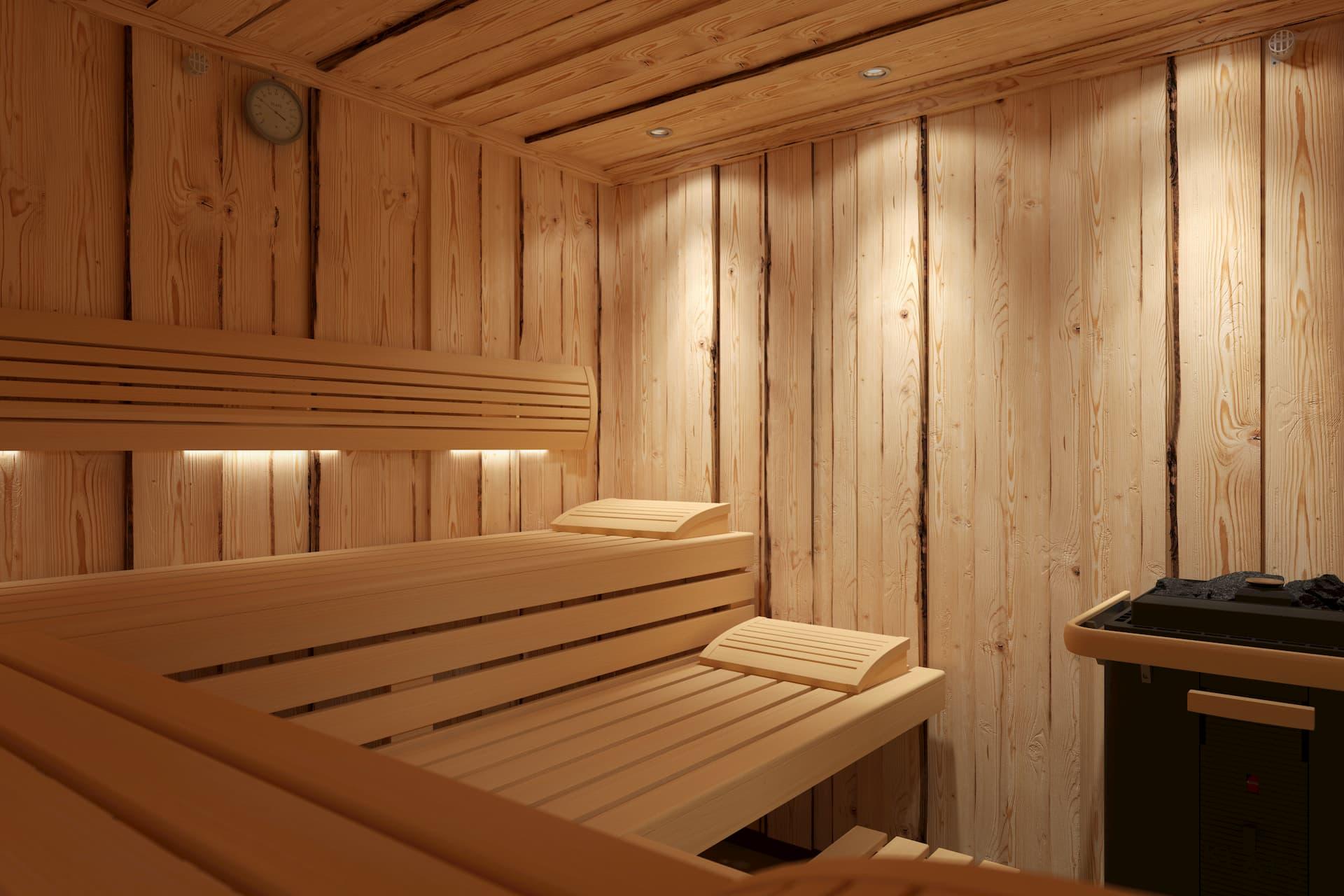 Klafs Sauna Wildspitze vertikal