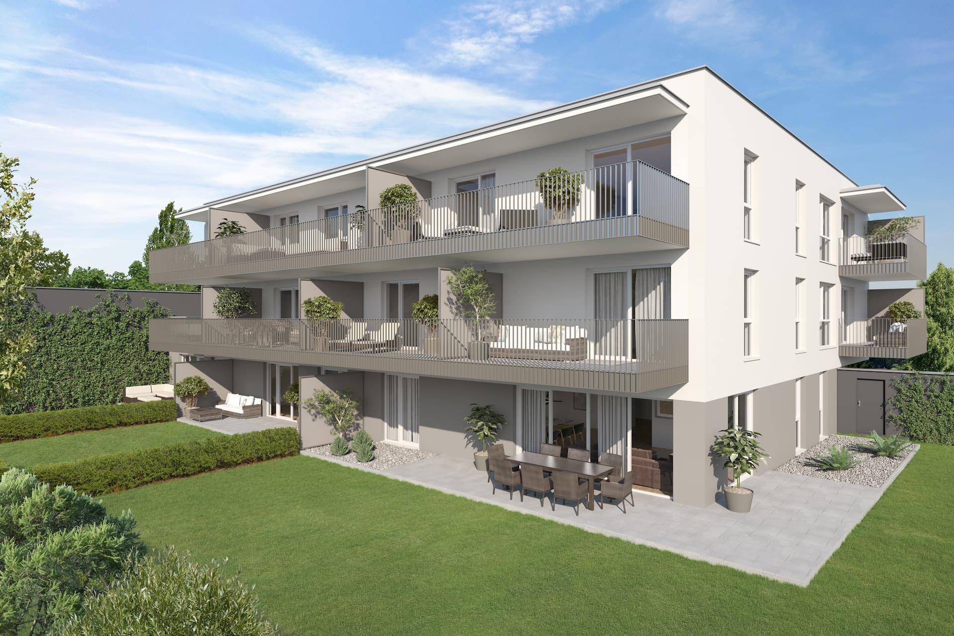 Aussenansicht Wohnprojekt Naheliegend in Klagenfurt